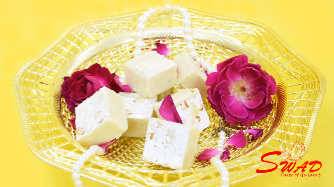 Almond Burfi | Indian Desserts | Buy Diwali Sweets | Sweets Shop